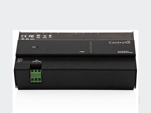 DIN-8ESW-E switch di rete su barra DIN