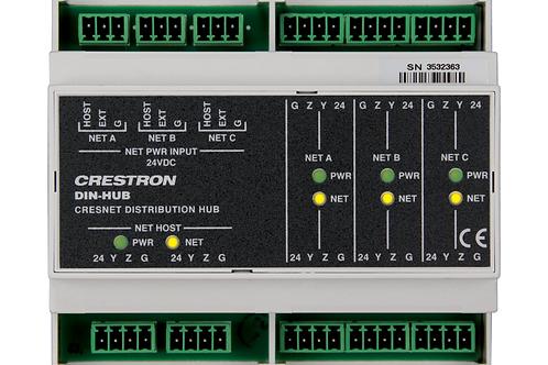 DIN-HUB Modulo di rigenerazione di bus CresNet