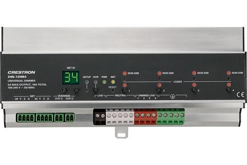 DIN-1DIM4 Modulo dimmer a 4 canali