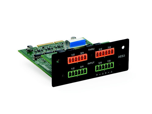 Bose® PowerMatch® AES3 8‐Ch. Inp.Card