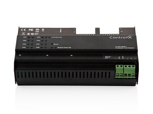 DIN-8TV-E modulo 0-10 V su barra DIN
