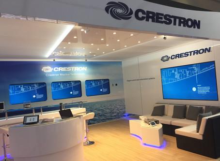 Crestron presenterà i propri sistemi di controllo al Monaco Yacht Show 2019