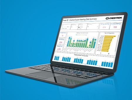 Il software Crestron Fusion® ora supporta funzionalità di dashboard interattivo e visualizzazione de