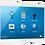 "Thumbnail: TSW-552-W-S Touchpanel 5"" - web browser bianco"