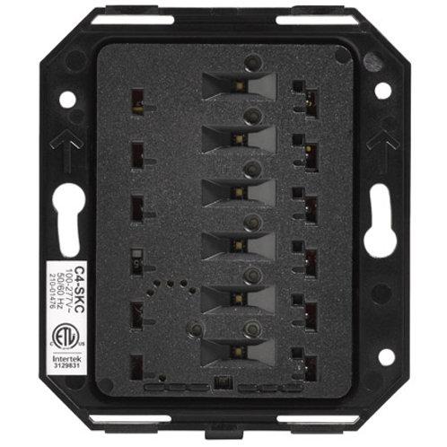 SKC-N tastiera Square wireless versione 2, configurabile da 2 a 7 tasti