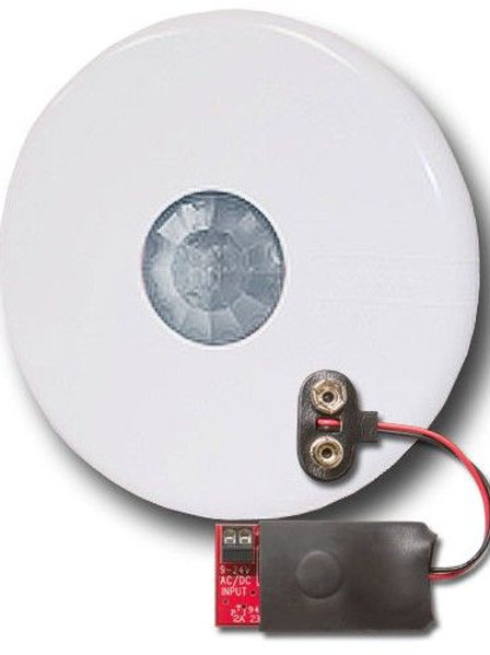 WMS10-CL-ZP sensore di movimento Wireless via ZigBee da incasso (ver. alimentato