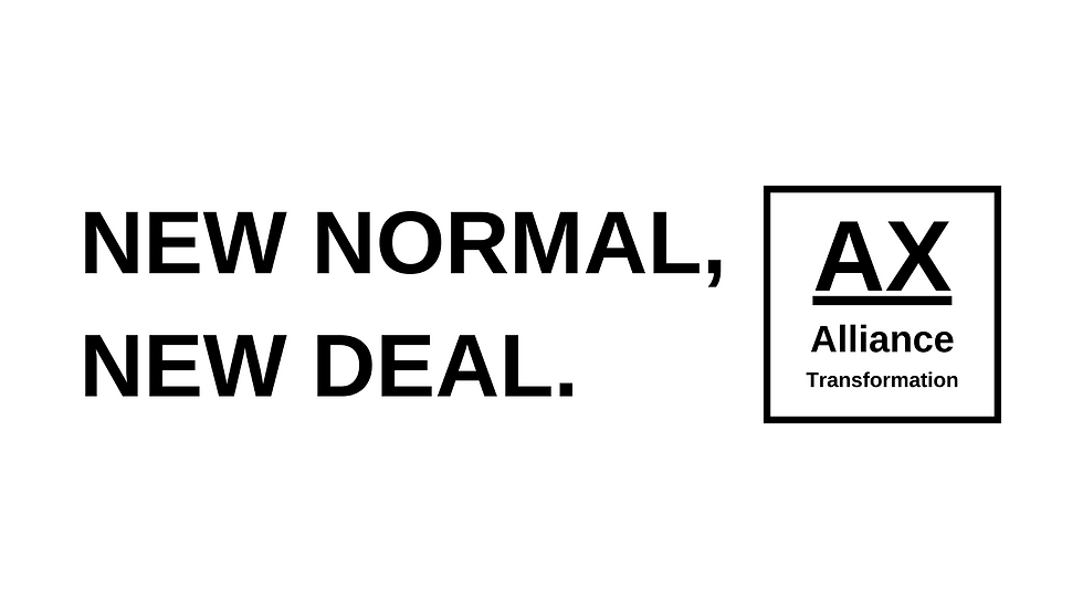 NEW NORMAL,NEW DEAL.