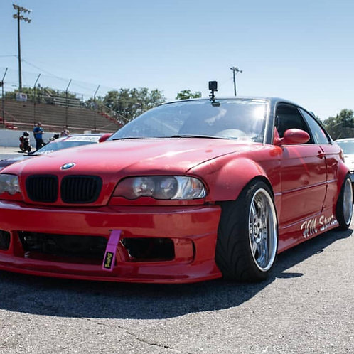 E46 Coupe Front Overfenders (+60mm)