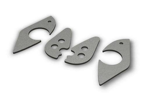E36 Front Subframe Reinforcement Plates