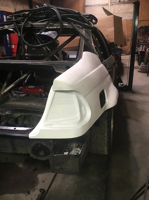 E46 Sedan Rear Quarter Panel Replacement