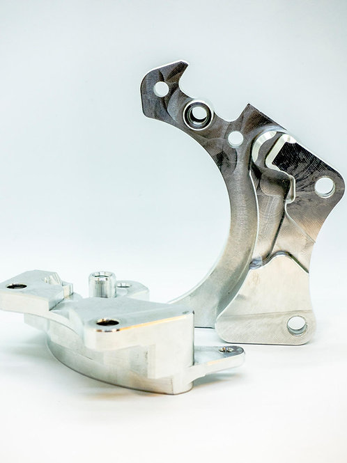 E36 Dual Caliper Bracket (FOR WILWOOD)