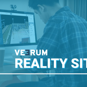 VEERUM Reality Site: Digitize your legacy facilities right in reality, without a CAD model