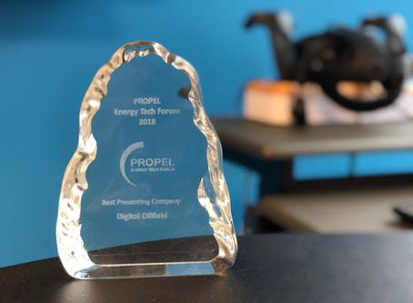 VEERUM wins Digital Oilfield at PROPEL 2018