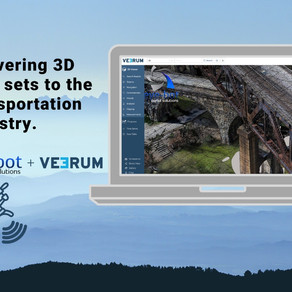 Delivering 3D data sets enable transportation industry remote access to assets