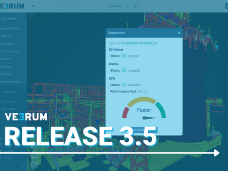 Release 3.5 focuses on upgraded user experience