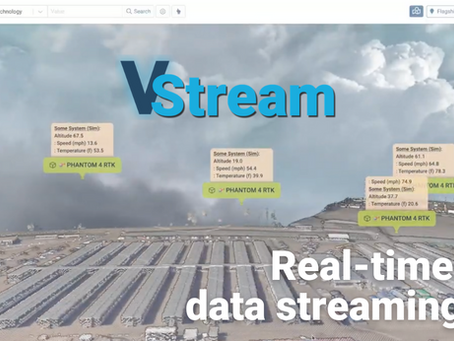 Introducing V-Stream: VEERUM's latest release offers real-time location and sensor data streaming