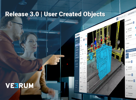 User Created Objects: VEERUM's latest product release focuses on industry solutions