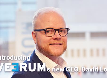 VEERUM announces new CEO, David Lod