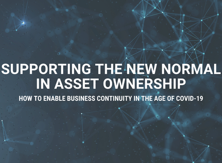 Supporting the new normal in asset ownership