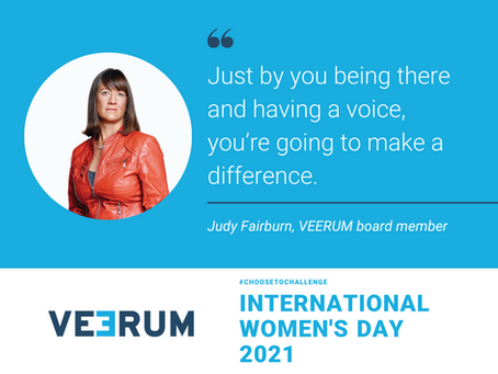 Unlocking the potential of women in 2021: Q&A with Judy Fairburn