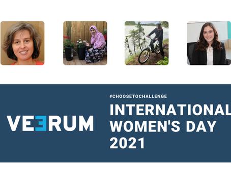Celebrating International Women's Day at VEERUM: Breaking barriers