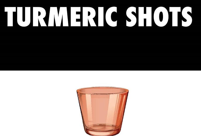 Turmeric Shots 5 FOR $15