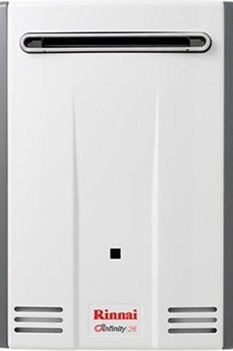 Rinnai Infinity 26L/min External (Domestic)