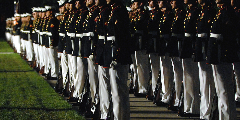 Cookout & Marine Barracks Evening Parade