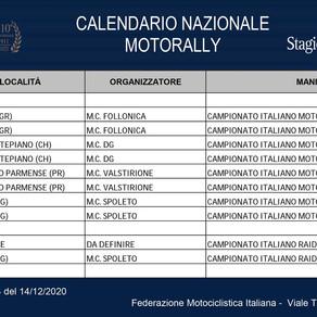 Calendario Campionato Italiano Motorally