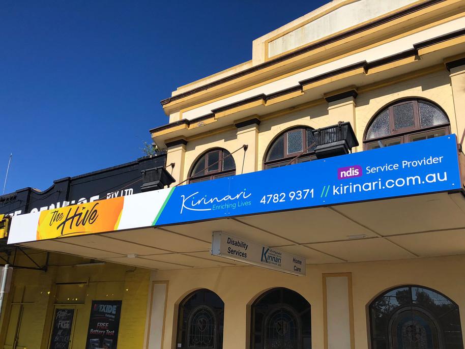 Lotza Design signage