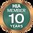 HIA 10 Year Member