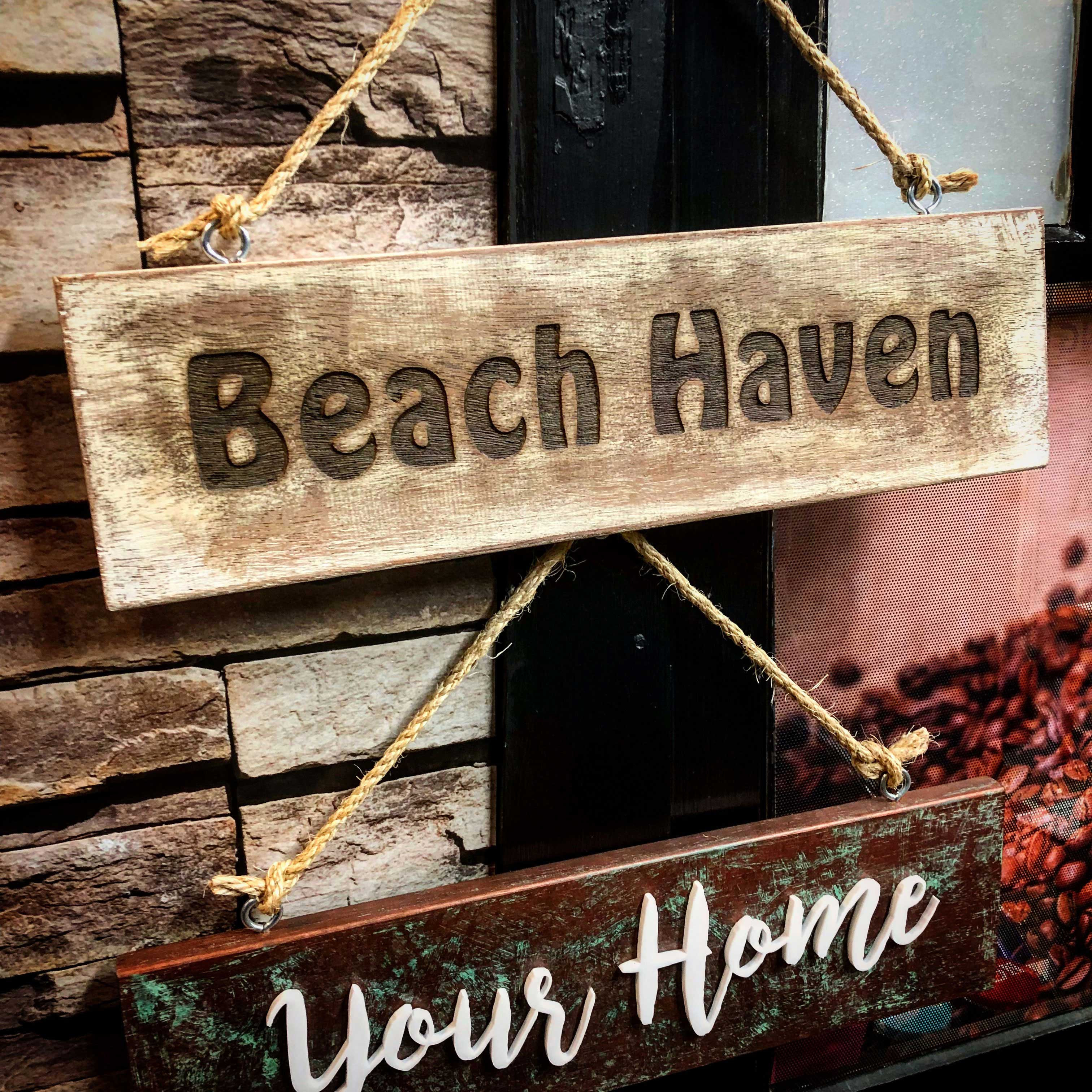 Beach background with beach font