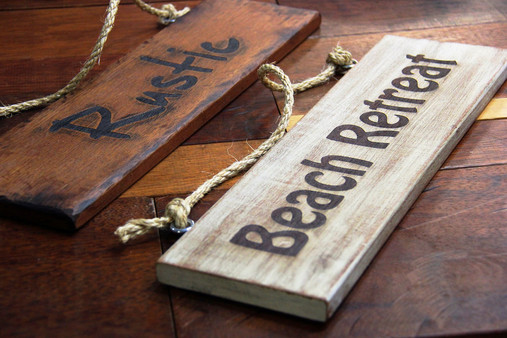 Solid Timber Signs