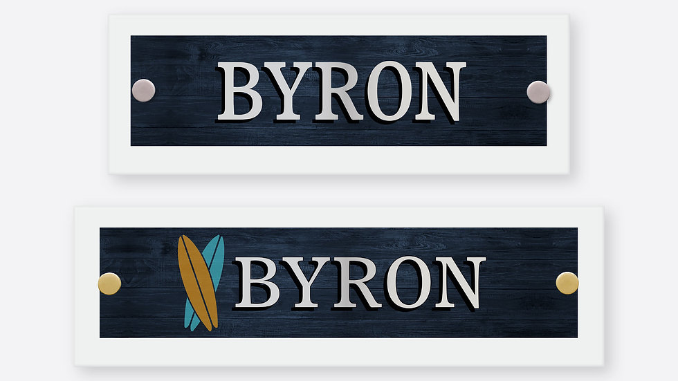 Byron Polished Glass