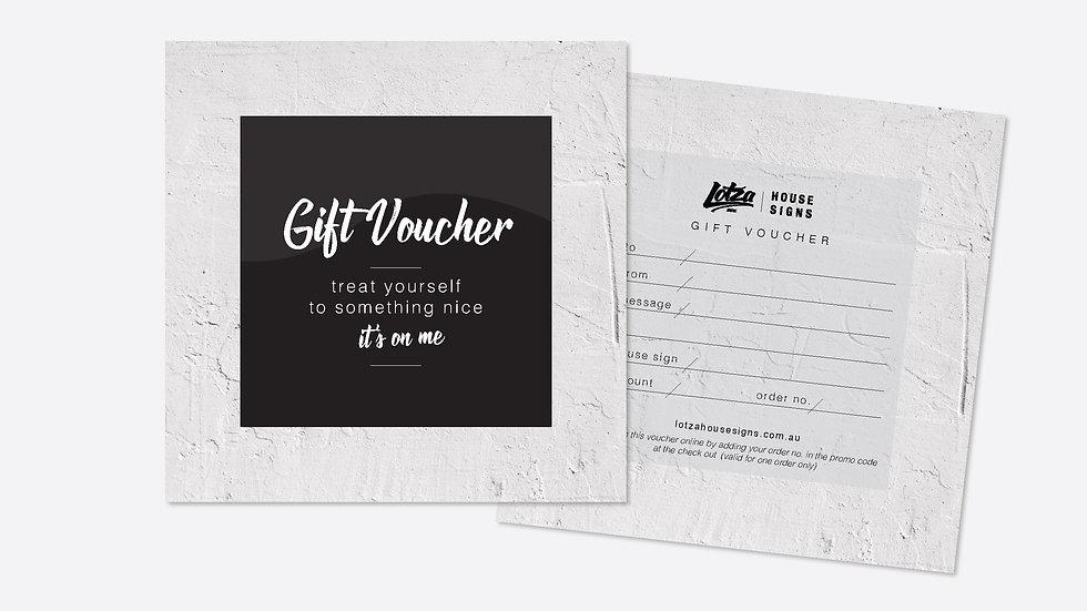 Digital Gift Vouchers