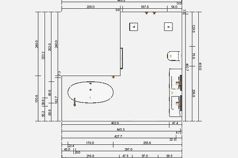 Bathrom planning an designing
