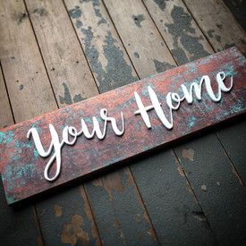 Decorative Timber Sign