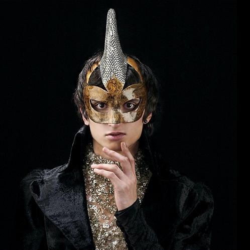 "Mask ""Diamond Unicorn"" Price on request"