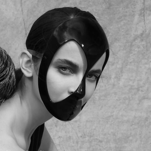 "Mask""Black&White"" 14"