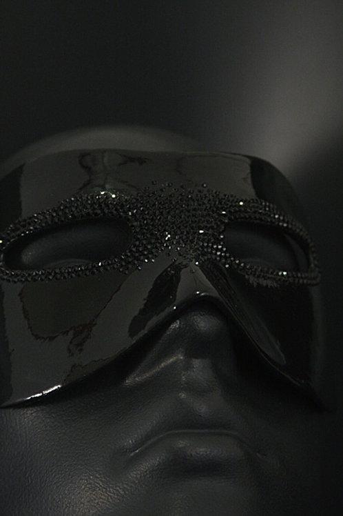 """Half-mask Kolombin """"Stefano Black"""""""