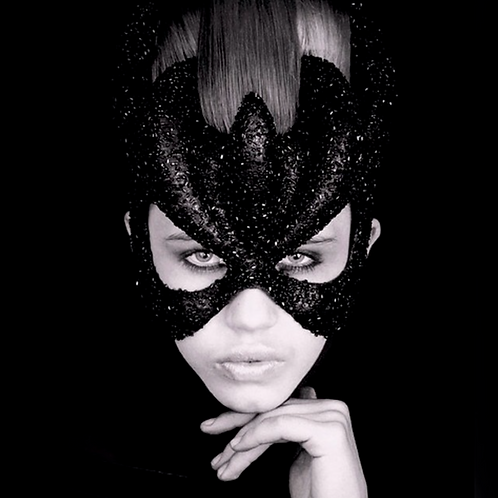 """Mask """"Black Queen"""" Price on request"""