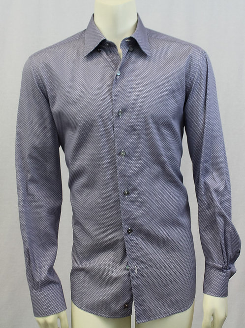 Ermenegildo Zegna Purple Gem Sport Shirt Large