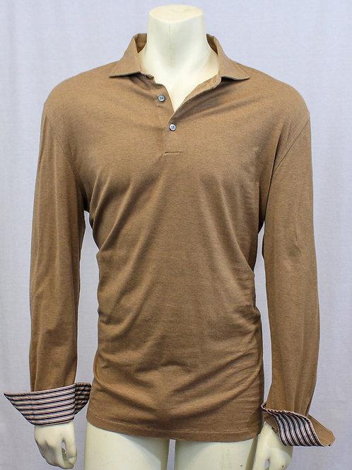 Ermenegildo Zegna Brown Shirt XL