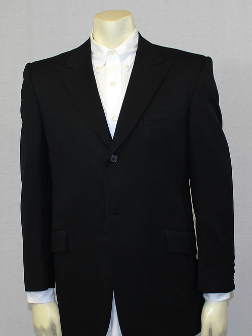 Paul Cicchini Black Sport Coat 42 Regular