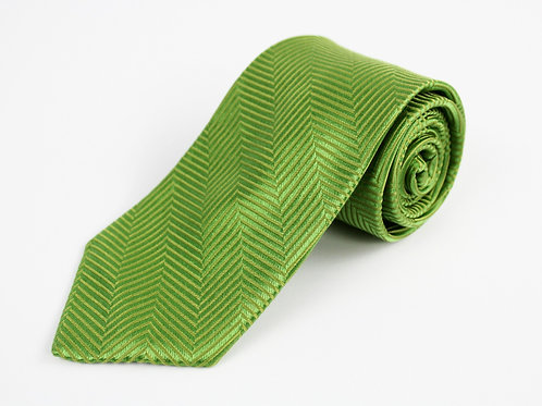 Paul Fredrick Green Silk Tie