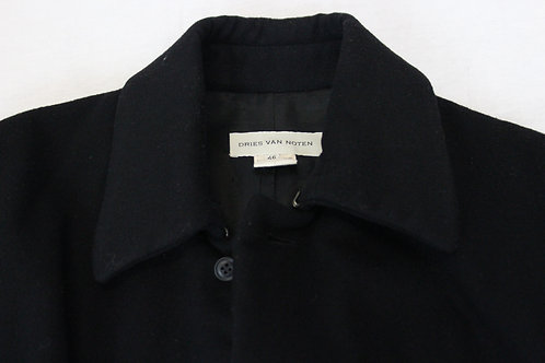 Dries Van Noten Black Coat
