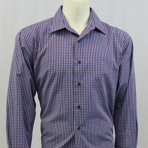 Bergamo New York Fitted Sport Shirt Large
