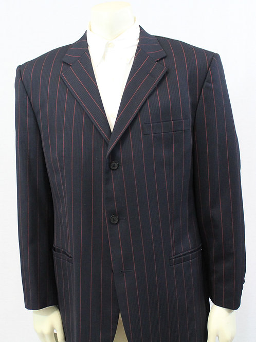 Versace Classic Red Pin Stripped Sport Coat
