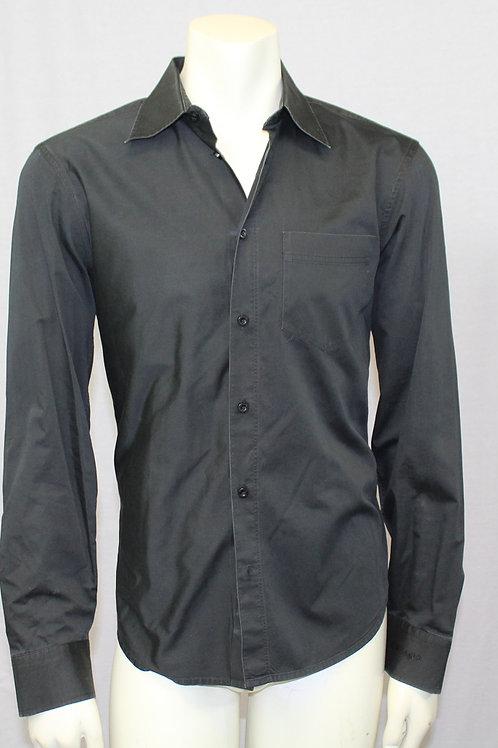 Armani Exchange Black Long Sleeve Shirt Medium