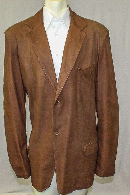 Remy Saddle Leather Jacket 48 Regular